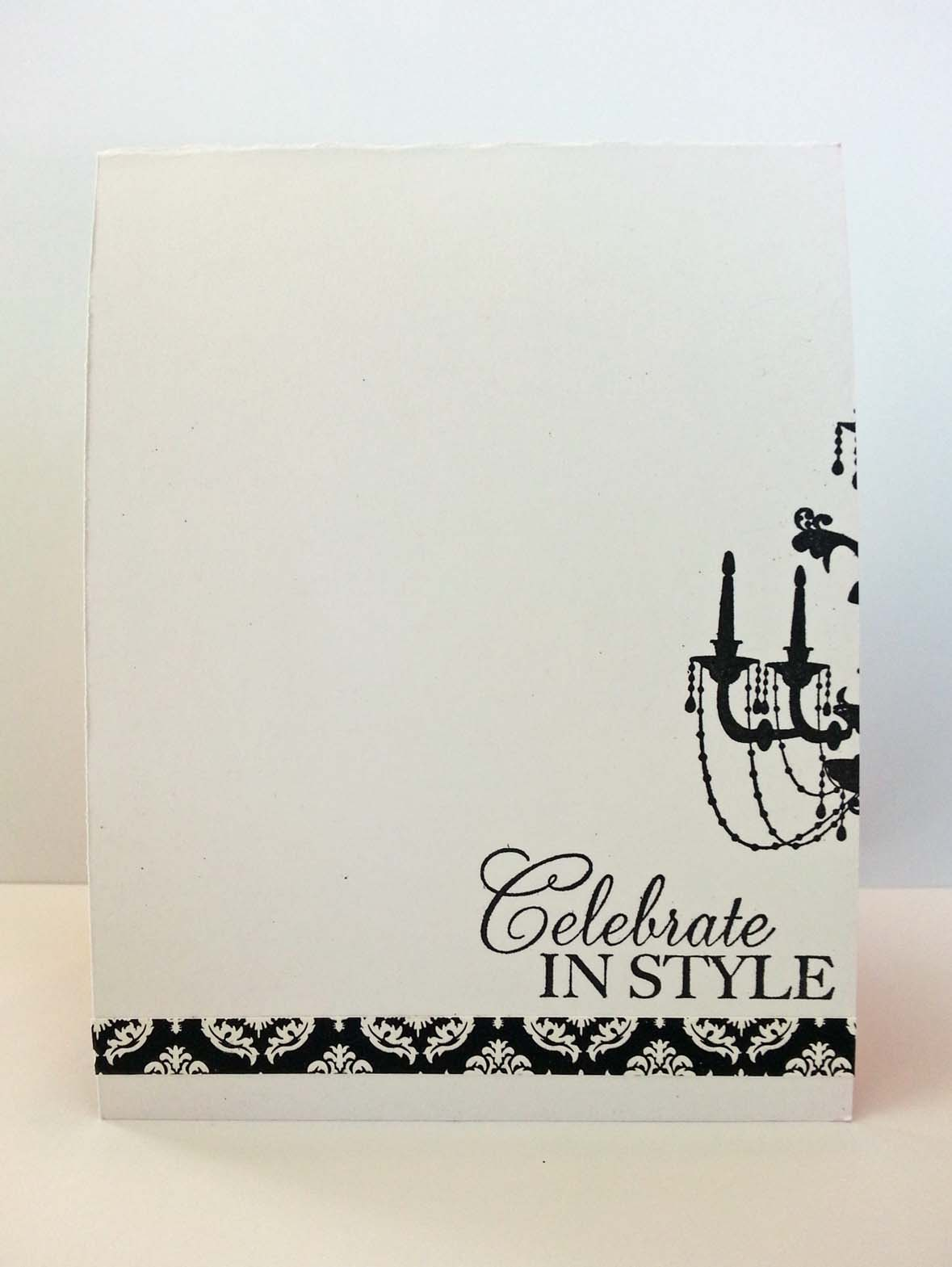 Kitchen Table Stamper Blog Archive Girly Birthday Card Inside
