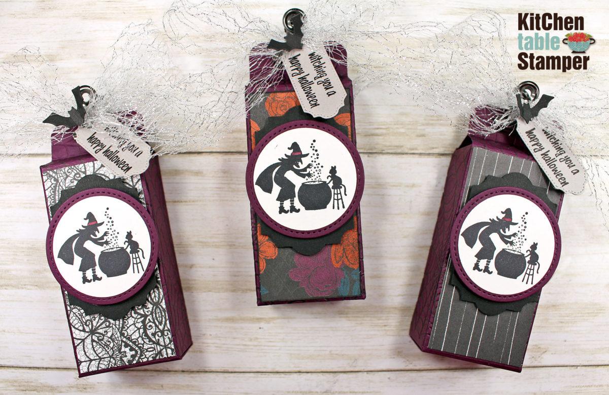 Ghoulish Goodies Snack Size Kit Kat Treat Box Tutorial